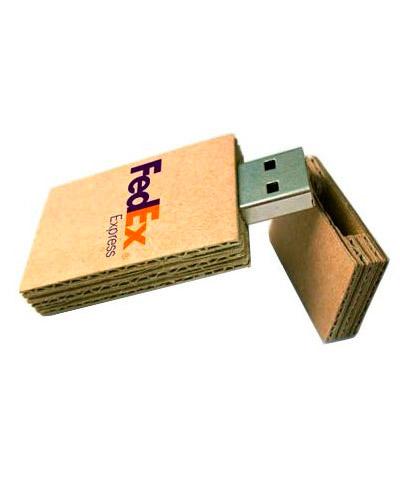 Brindes Personalizados -  Pen drive 4gb Papel Personalizado