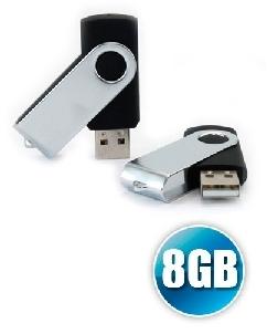 Brindes Personalizados -  Pen Drive 8GB Canivete Personalizado