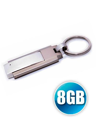 Brindes Personalizados -  Pen drive 8GB Chaveiro de Metal