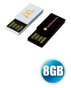 Brindes Personalizados -  Pen drive 8gb Clipe Personalizado