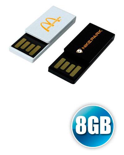 Pen drive 8gb Clipe Personalizado