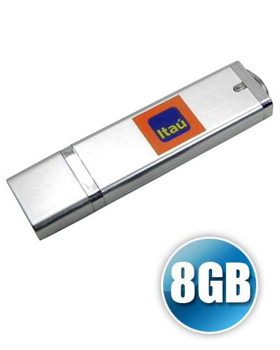 Brindes Personalizados -  Pen drive DG 8GB com Tampa