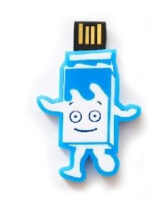 Brindes Personalizados -  Pen drive Retrátil Customizado em Acrílico