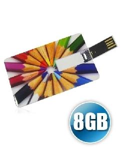Brindes Personalizados -  Pencard 8GB Personalizado