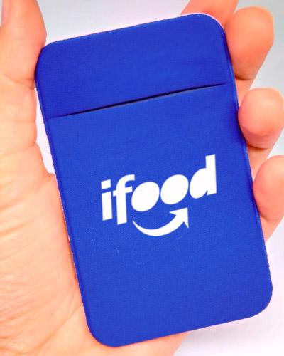 Porta Cartão Azul Personalizado