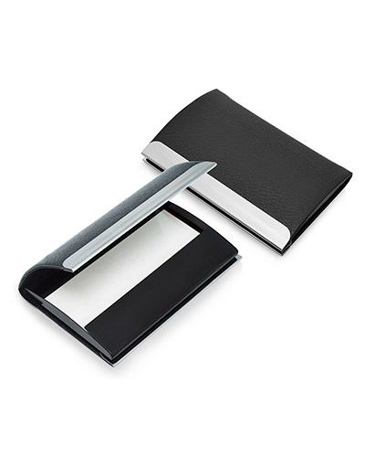 Brindes Personalizados -  Porta Cartão de Couro para Brindes