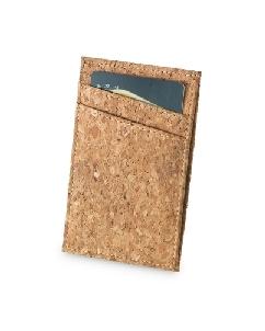 Porta Cartão de Crédito em Cortiça Personalizado