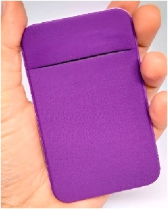 Porta Cartão Personalizado em Lycra para Celular
