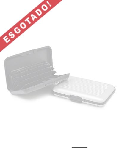 Brindes Personalizados -  Porta Cartões de Visita em Plástico