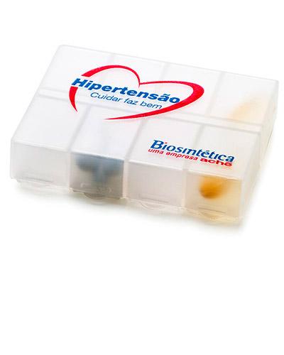 Brindes Personalizados -  Porta Comprimidos para Brinde