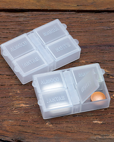 Brindes Personalizados -  Porta Comprimidos Personalizado
