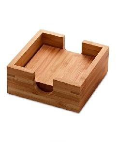 Porta Copos de Bambu Personalizados