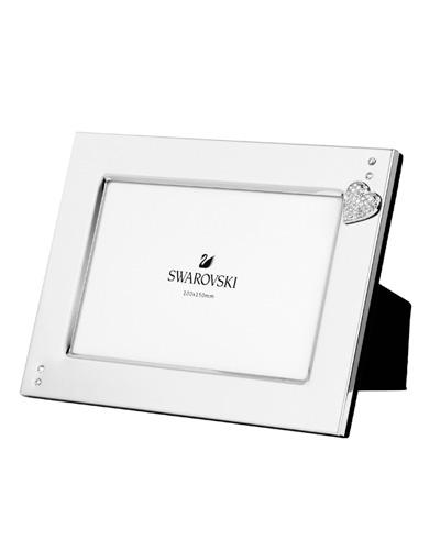 Brindes Personalizados -  Porta Retrato Swarovski Heart