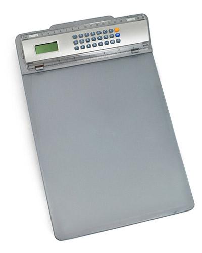 Prancheta com Calculadora Personalizada