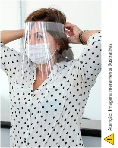 Protetor Facial Personalizado