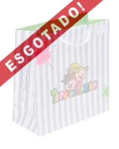 Brindes Personalizados -  Sacola de papel Personalizada