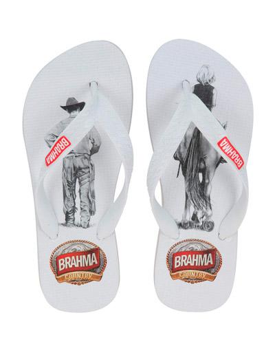 Sandálias Top com Tag