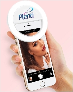 Brindes Personalizados -  Selfie Ring Light Personalizado