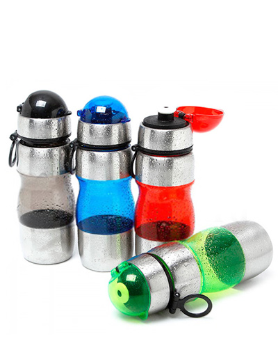 Brindes Personalizados -  Squeeze de Metal para Brinde Promocional