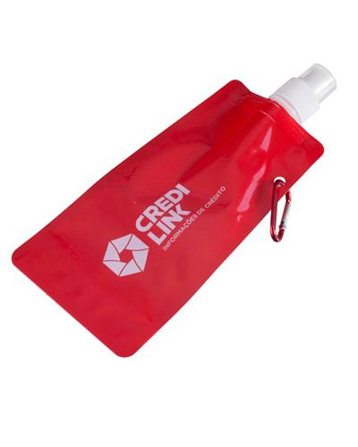 Brindes Personalizados -  Squeeze de Plástico Flexível Personalizado