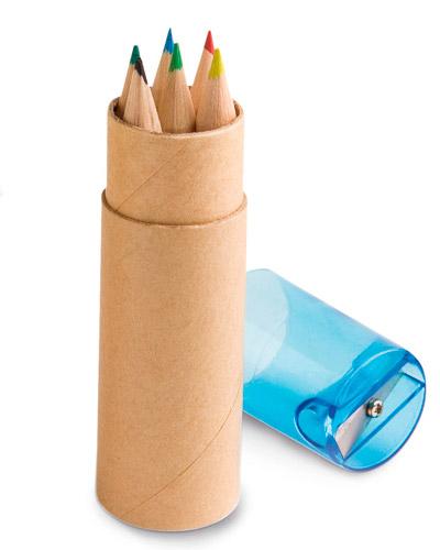 Brindes Personalizados -  Caixa de Lapis Pequena Personalizada
