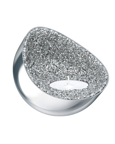 Brindes Personalizados -  Suporte Decorativo para Vela Swarovski Minera