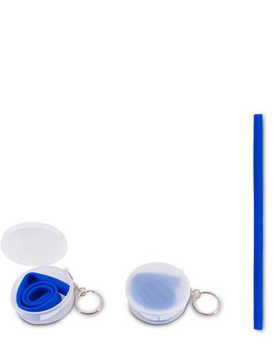 Brindes Personalizados -  Canudo de Silicone Personalizado para Brindes
