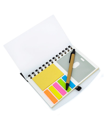 Brindes Personalizados -  Caderno de Anotações Personalizado