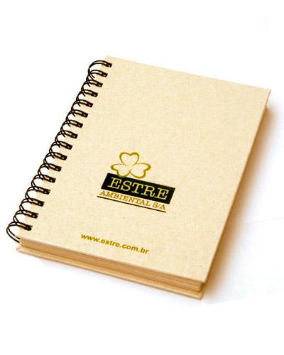 Brindes Personalizados -  Caderno Promocional