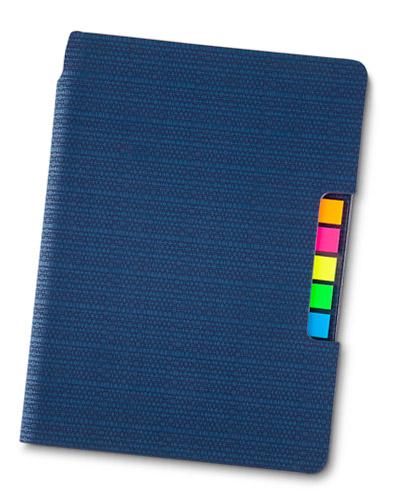 Brindes Personalizados -  Caderno de Anotações Personalizado com Post It