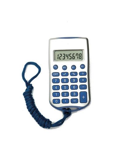 Brindes Personalizados -  Calculadora 8 Dígitos com Cordão