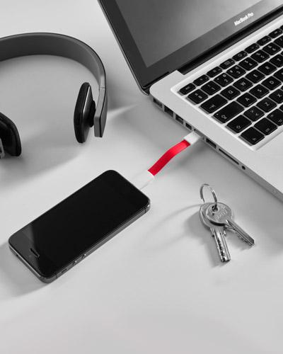 Brindes Personalizados -  Cabo USB Personalizado