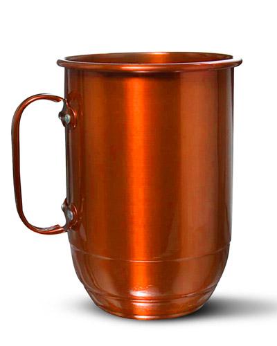 Brindes Personalizados -  Caneca Colorida Cobre para Brindes