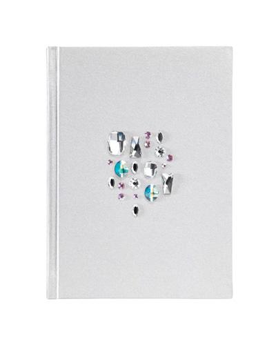 Brindes Personalizados -  Caderno Capa Dura Swarovski Sparkling