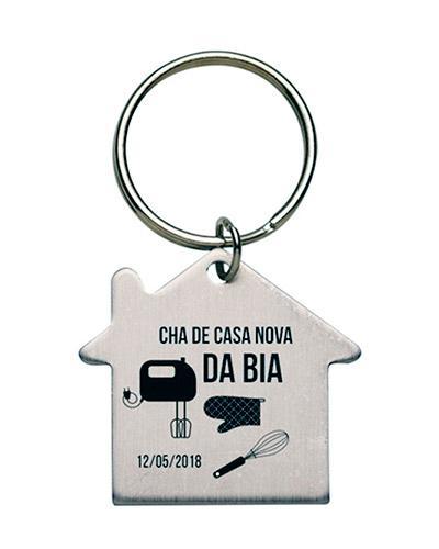 Brindes Personalizados -  Chaveiro Miniatura Casa