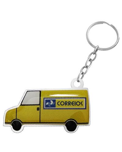 Brindes Personalizados -  Chaveiro Resinado Personalizado Van