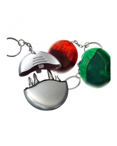 Brindes Personalizados -  Chaveiro com kit de Ferramenta Personalizado 4 Peças