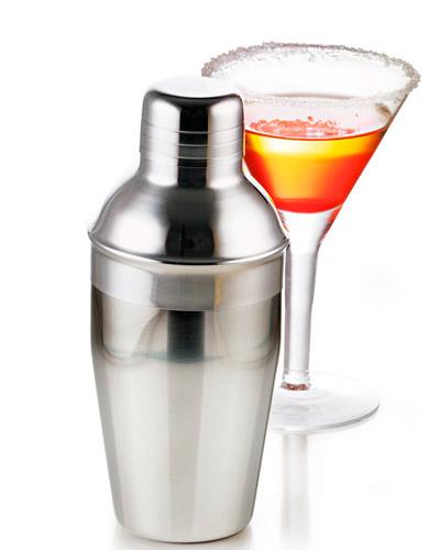 Brindes Personalizados -  Coqueteleira de Inox Personalizada