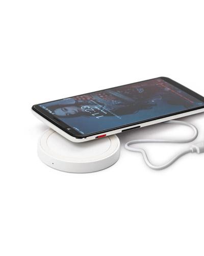 Brindes Personalizados -  Carregador Portátil Wireless Personalizado