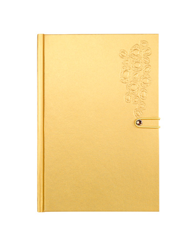 Brindes Personalizados -  Caderno Swarovski Crystal Rivet