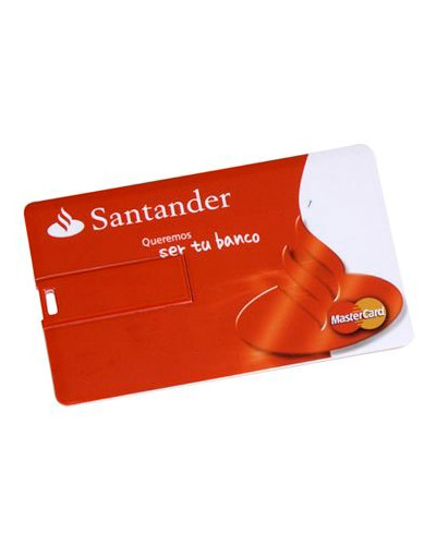 Pen drive Cartão Personalizado 4GB - Brindes