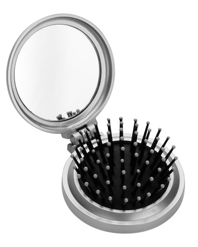 Brindes Personalizados -  Espelho com Escova Personalizado