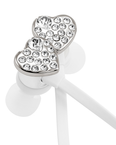Brindes Personalizados -  Fone de Ouvido Swarovski Heart