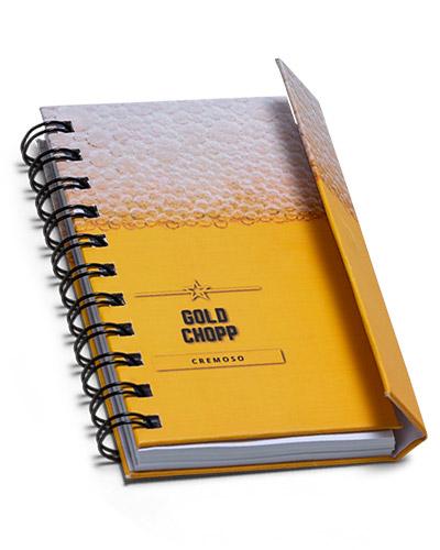 Brindes Personalizados -  Mini Caderneta Personalizada