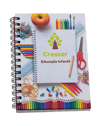 Brindes Personalizados -  Agenda Escolar Personalizada