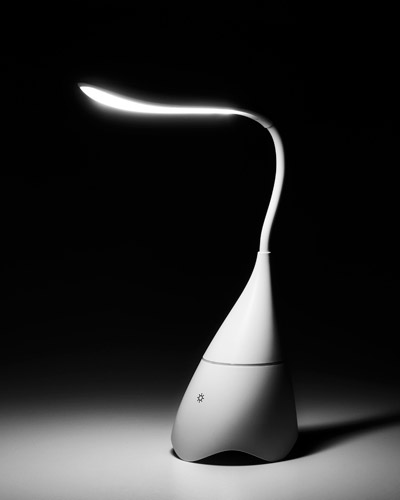 Brindes Personalizados -  Luminária de Mesa Articulável Personalizada