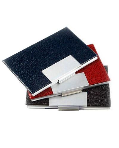 Brindes Personalizados -  Porta Cartão Personalizado em Couro
