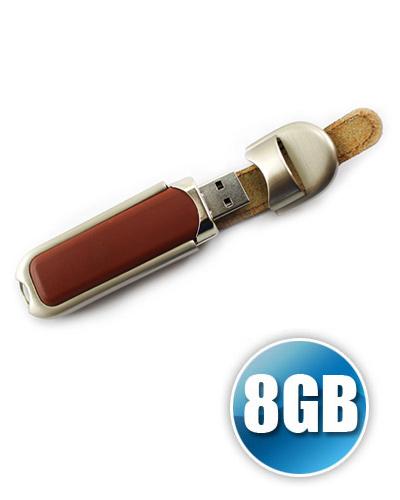 Brindes Personalizados -  Pen drive de couro 8GB Personalizado