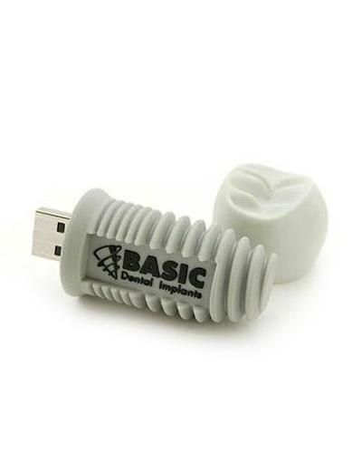 Brindes Personalizados -  Pen drive Customizado 3D Parafuso