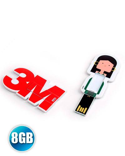 Brindes Personalizados -  Pen drive Card Personalizado